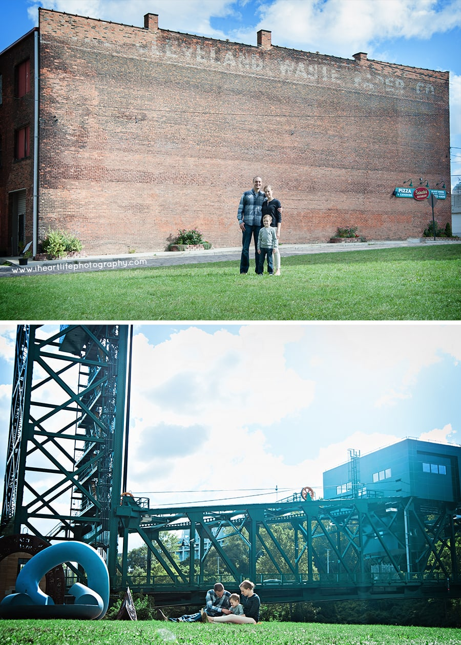 Family Photo Session - Downtown Cleveland