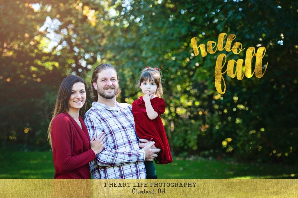 Fun family photo shoot at Rocky River, OH
