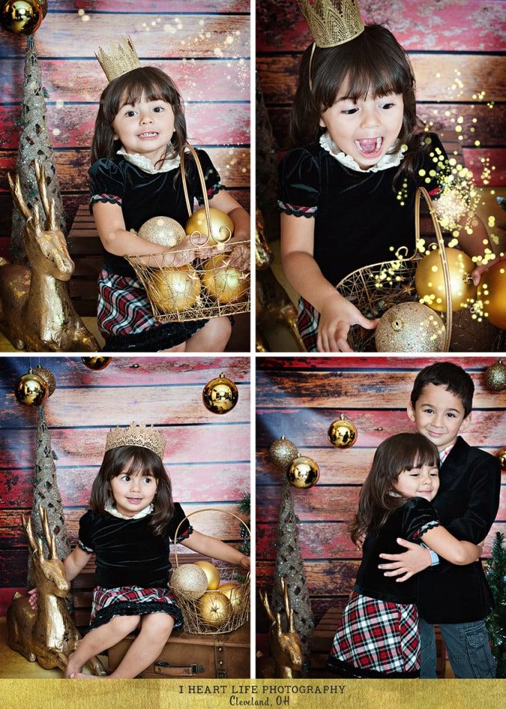 Cleveland Children Photo Studio   Christmas Session