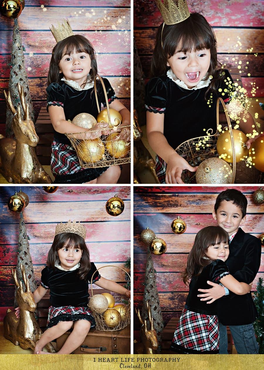 Cleveland Children Photo Studio | Christmas Session