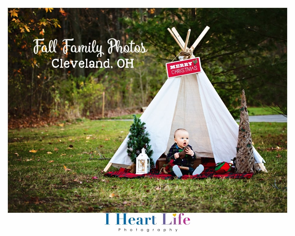 Emily | Fall Family Photo at Rocky River Metroparks