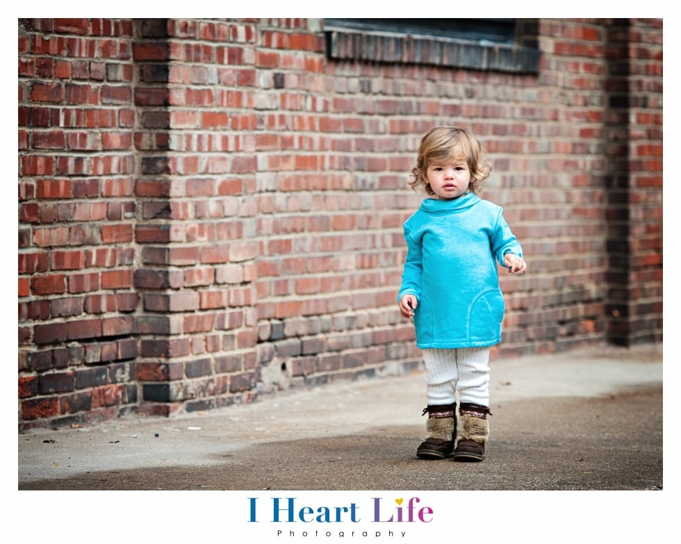 The McFerran Family   Fall Photo Session in Downtown Cleveland