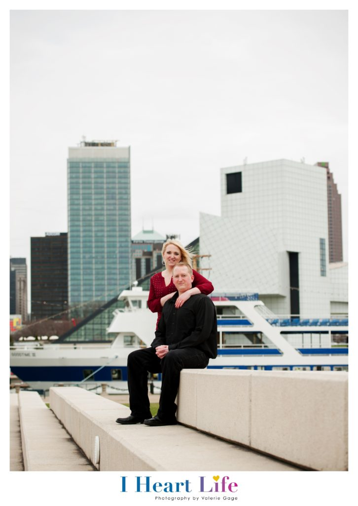 Engagement Photography at Voinovich Park