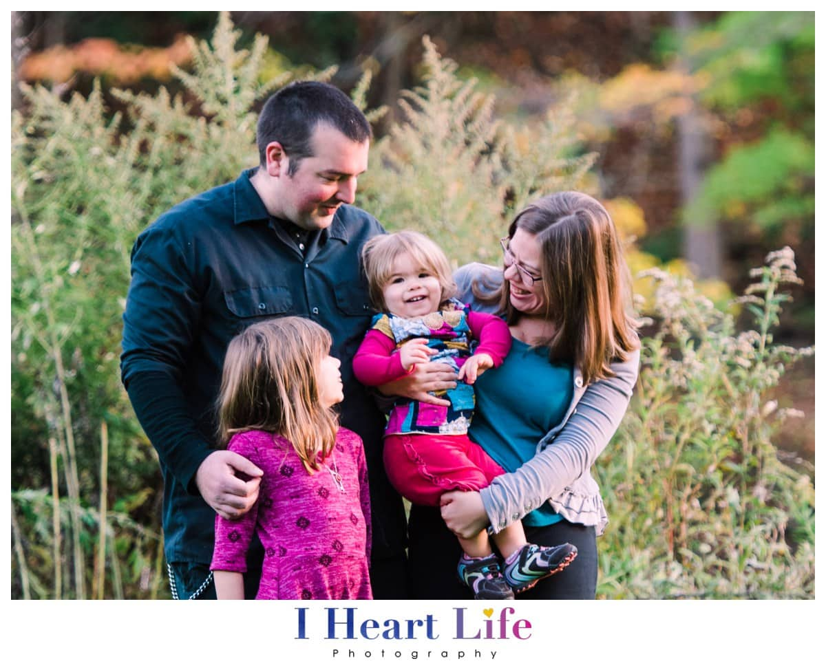 Rocky River Metroparks Family Photographer | The M Family-Fall Family Pictures