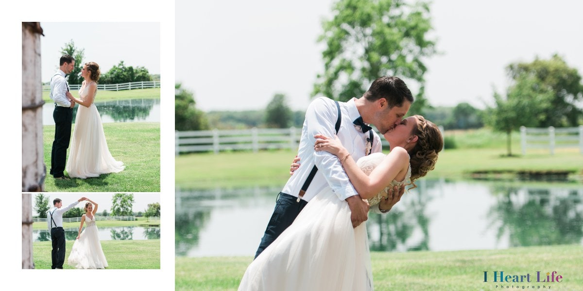 Ryan & Leann's Rustic Wedding | Nolan Barn Wakeman Ohio
