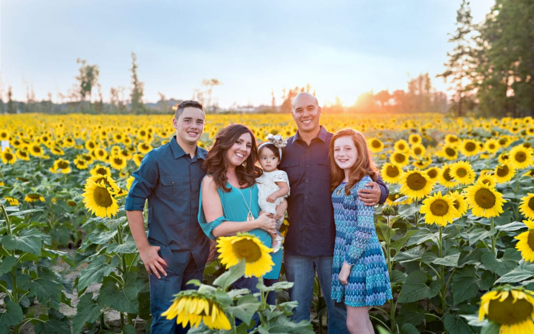 Sunflower Family Photos | Prayers From Maria, Cleveland Ohio