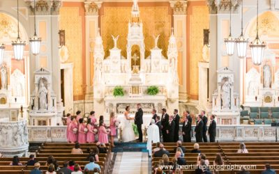Bryan + Katelyn | Wedding Ceremony at St Colman Parish Church